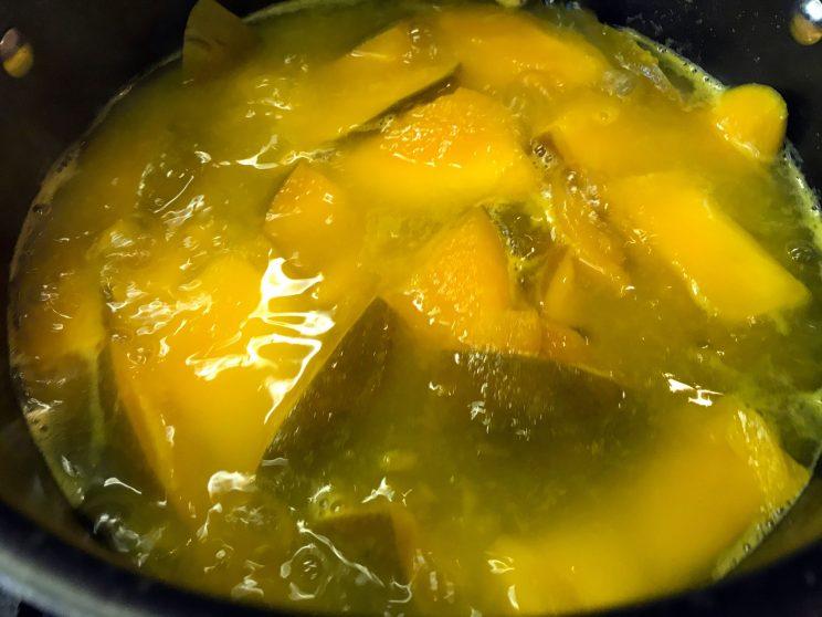 Indian Mango Sweet Sour Pachadi (Salad-Relish) 4