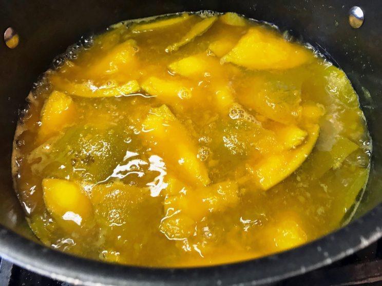 Indian Mango Sweet Sour Pachadi (Salad-Relish) 7