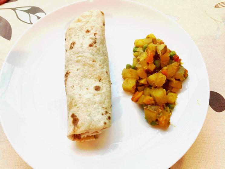 Veggie Masala Burrito