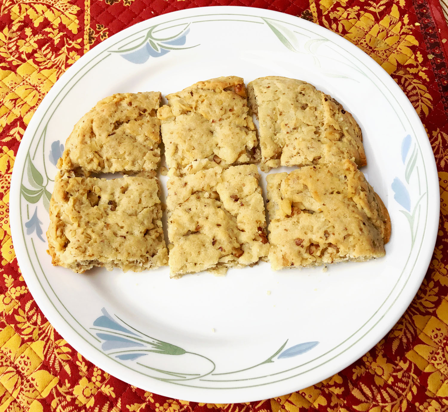 Easy Yummy Almond Walnut Cookies 2