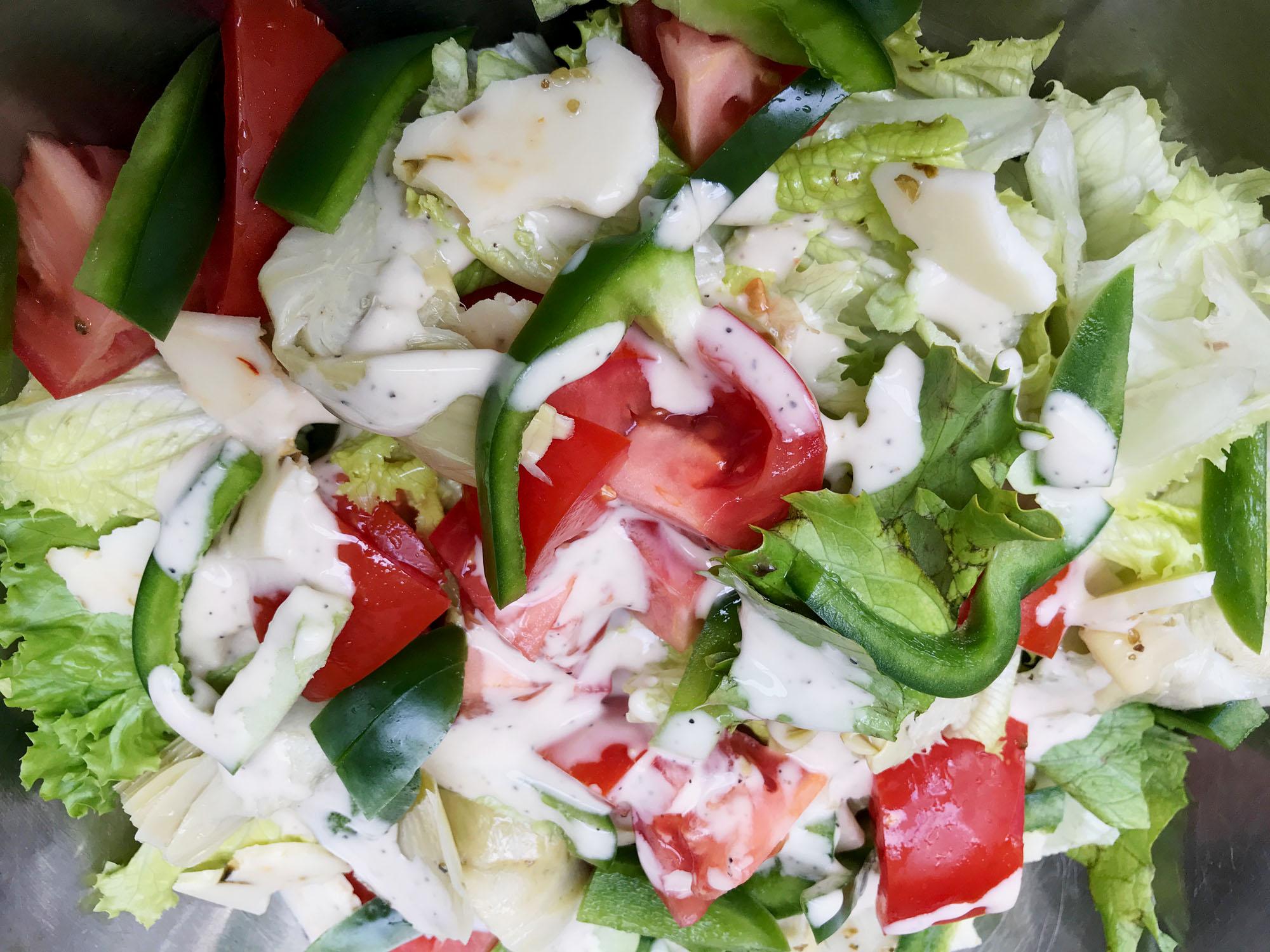 Easy Delicious Healthy Colorful Salad
