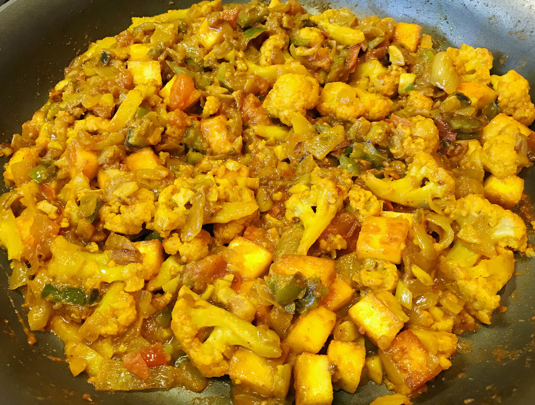 Paneer Tikka Masala with a Twist