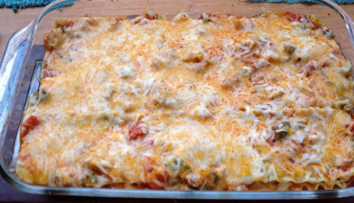 Wonderful Artichoke Lasagna