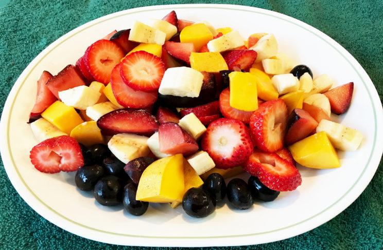 Delicious, Beautiful, Healthy Fruit Salad