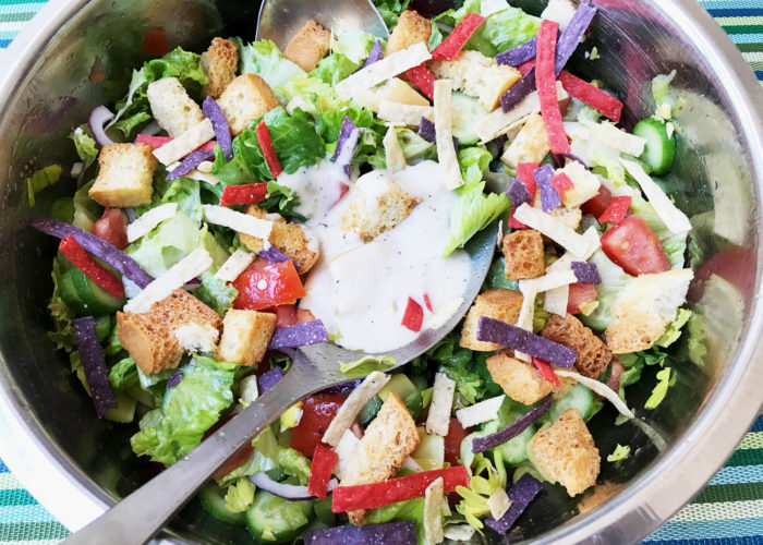 Delicious Healthy Tossed Salad