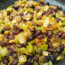 Veggies, Black Beans, Spices Medley