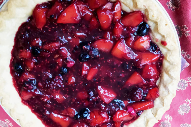 Easy Healthy Berry Pie