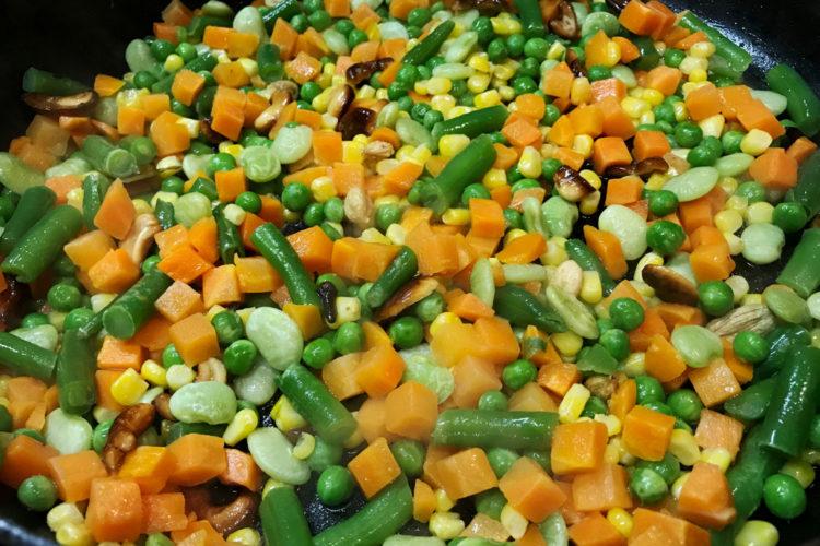 Delicious Veggie Pulav Rice
