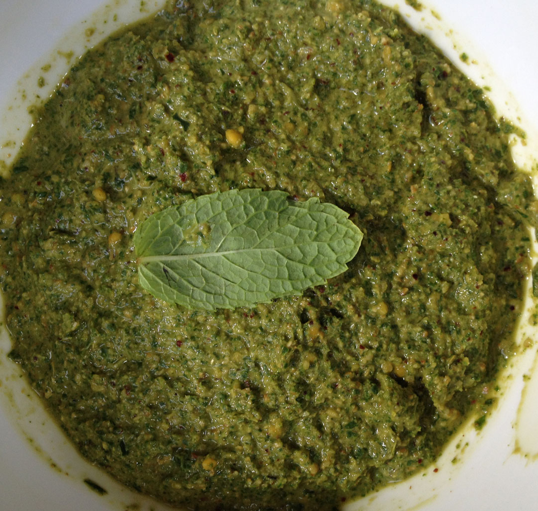 Mint Leaves Chutney